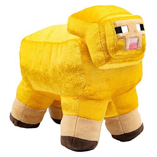 Minecraft 10192 Minecon Live Gold Sheep / Schaf 25 cm Pluesch
