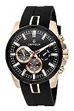 Orphelia Herren-Armbanduhr Bernina Analog Quarz Silikon 86601