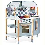 Howa Spielküche / Kinderküche aus Holz incl. 5 TLG. Küchenset 4818