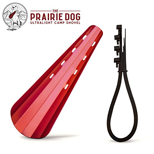 The Prairie Dog - Ultralight Camp Shovel Trowel for Backpackers - 0.7 Ounces/Extendable...