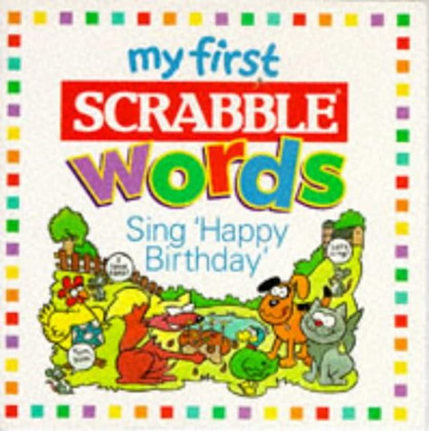 My First Scrabble: Happy Birthday (My First Scrabble Words)