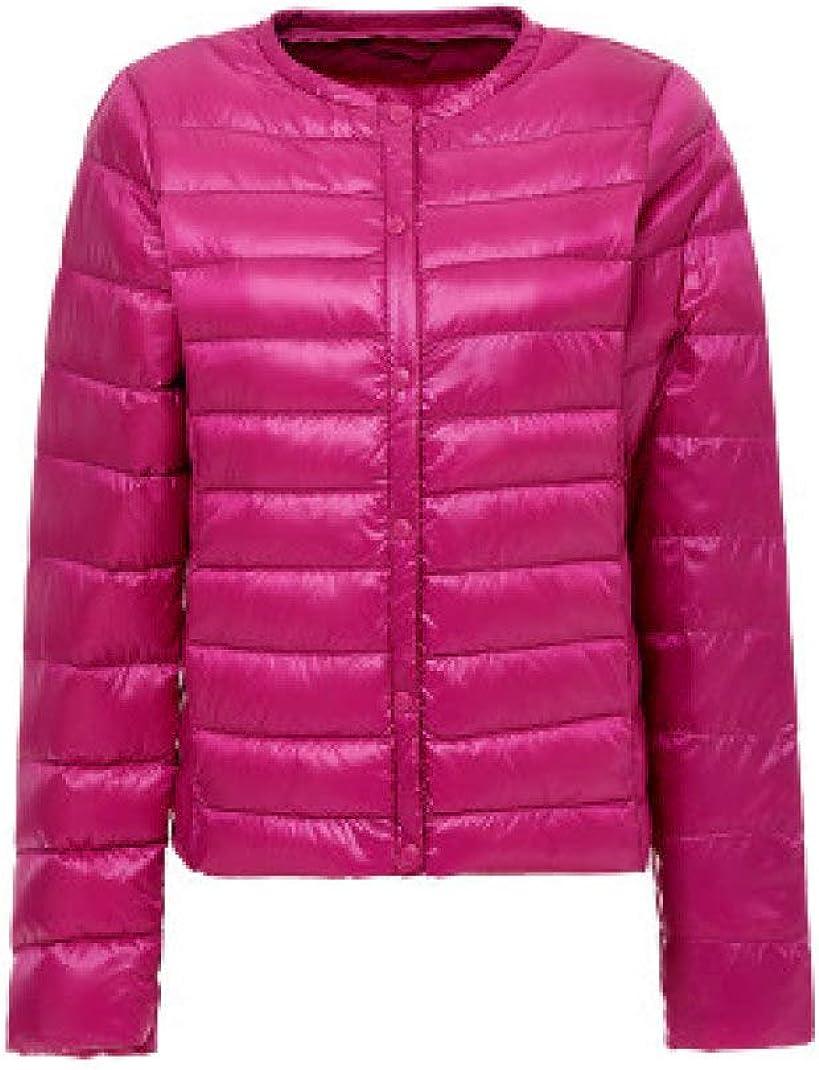 Ultra-Light Women Winter Down Coat White Duck O-Neck Portable Overcoats Jacket Warm Outerwear Down Jackets
