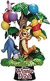 Diorama Winnie The Pooh With Friends 16 cm. Winnie the Pooh. Beast Kingdom Toys. Disney