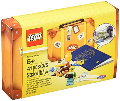 LEGO 5004932 Reisekoffer / Travel Building Suitcase 41-teilig 14x9x3 cm