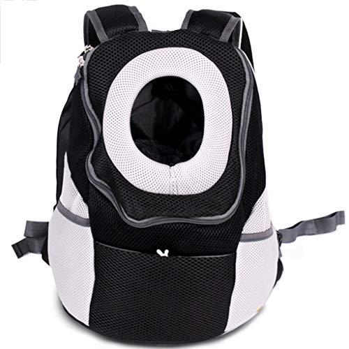 Große Pet Carrier Rucksack Katzen Welpen Reise tragbare Tasche Licht, Kleintier Kopf Design, Kragen Runde Haken hängen, mehrere Farben erhältlich (Farbe : A, größe : L)