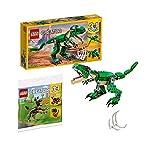 Legoo Lego Creator 31058 - Juego de dinosaurio y gato (bolsa de plástico, 7-12 años)