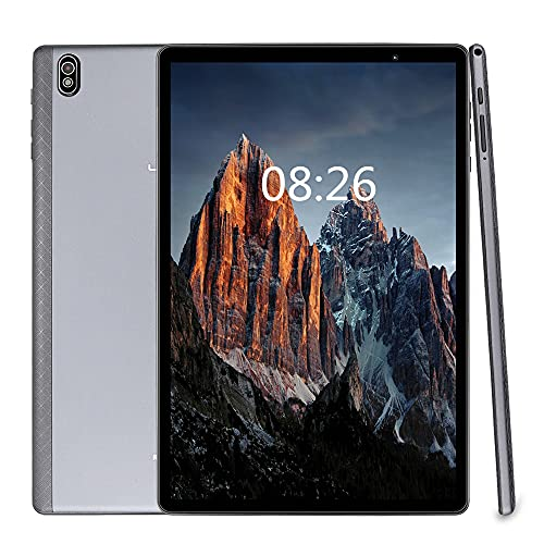 LNMBBS T610 Tablet 10 Pollici, 5G WiFi, Android 10.0, Octa-Core 1.8 GHz, 1920*1200 FHD, 4GB RAM, 64GB ROM, 128GB Espandibili, Camera 8+2 MP, Batteria 6000mAh, Face ID, WLAN, GPS, Bluetooth 5.0, Grigio