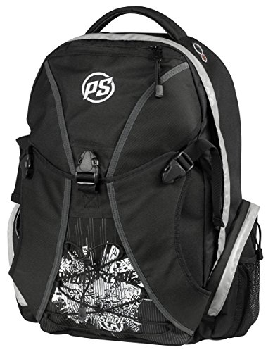 Powerslide Sports Backpack Mochila Tipo Casual, 50 cm, 57 Liters, Negro (Black)