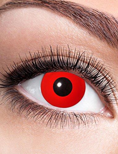 Kontaktlinse Red Devil dpt. -1,0 bis -4,0 Größe: -1,5 Dioptrien