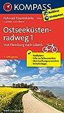 Fahrrad-Tourenkarte Ostseeküstenradweg 1, Von Flensburg nach Lübeck: Fahrrad-Tourenkarte. GPS-genau. 1:50000. (KOMPASS-Fahrrad-Tourenkarten, Band 7052)