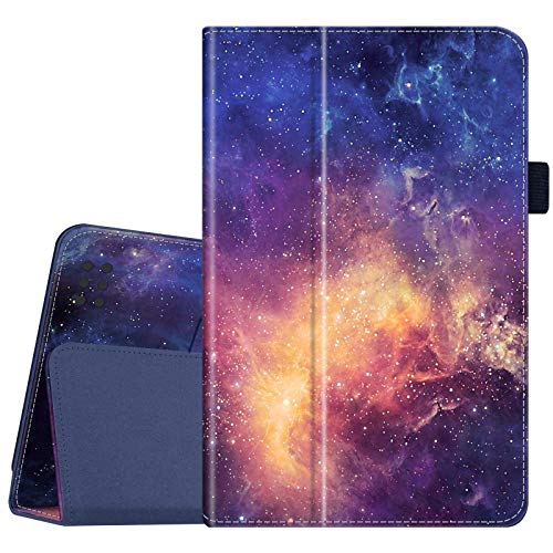 Fintie Folio Case for Kindle Fire 1st Generation - Slim Fit Stand Leather Cover for Amazon Kindle Fire 7' Tablet (Will only fit Original Kindle Fire 1st Gen - 2011 Release, no Rear Camera), Galaxy