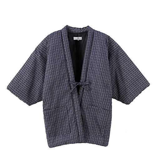 Fancy Pumpkin Giacca Kimono Unisex in Cotone Cappotto Giapponese Spesso Caldo Spesso-C5