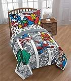 Marvel Comics Avengers Boys Twin Comforter, Sheets, Bonus Sham & Bonus Toss Pillow (6 Piece Bed in A Bag) + Homemade Wax Melts