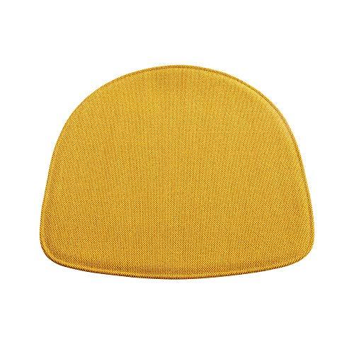 HAY About A Chair AAC Sitzkissen für Armlehnstuhl, goldgelb Stoff Steecut Trio 453 LxBxH 41x41x0,5cm für AAC Armlehnstuhl