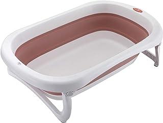 Glenmore Baignoire Bain Bebe Pliable: Bassine Douche Enfant avec Support Pied Pliante Pour Bébé Mois Grande Baignoir Baby ...