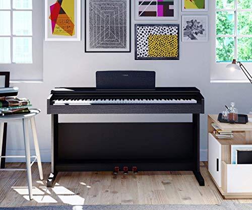 Yamaha Arius YDP-144 piano droit numérique avec 88 touches – Avec la sonorité d'un piano de...
