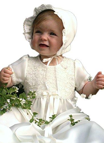 Grace of Sweden - Costume de baptême - Bébé (garçon) 0 à 24 mois blanc cassé No bow ribbons 80/86, 11-18 month, chest 20,5 in.