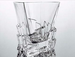 Vasos de whisky de cristal hechas a mano Klein Baccarat, servicio de 6 vasos de
