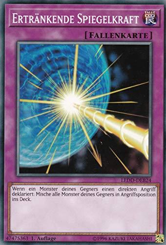 LEDD-DEB24 - Ertränkende Spiegelkraft - Common - Yu-Gi-Oh - Deutsch 1. Auflage