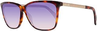 Just Cavalli Sunglasses JC652S 53W Blonde Havana/Gradient Blue 58mm