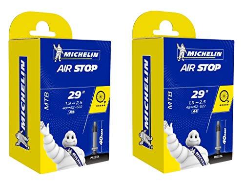 cyclingcolors 2X Michelin Fahrrad Schlauch 29 x 1,90-2,50