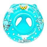 JJOnlineStore - Bague de natation gonflable [dessin d'éléphant], flotteur pour bébé / tout-petit, bleu