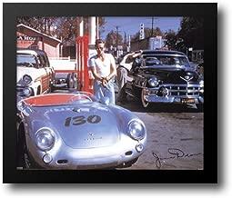 James Dean (Car) 24x20 Framed Art Print