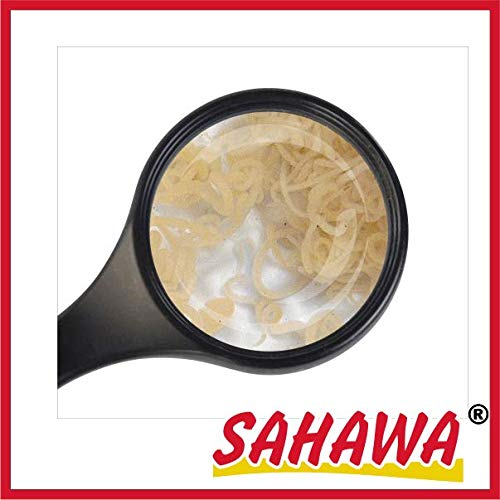 SAHAWA® Lebendfutter Enchytraeen 10x90ml Beutel,Lebendfutter, Zierfischfutter, Aquarienfutter, Aquarienfischfutter