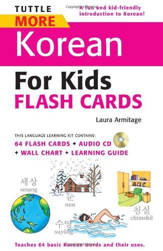 Tuttle More Korean for Kids Flash Cards Kit (Tuttle Flash Cards)