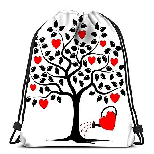 Lsjuee Drawstring Backpack Bags Sports Cinch Ganja Weed Marijuana String Backpack Bulk Storage Bags for School Gym