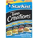 4-Pack StarKist Tuna Creations Variety Pack, 2.6 oz Pouch