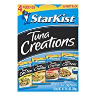 StarKist Tuna Creations, Variety Pack, 4 - 2.6 oz pouch (Total 10.4 Oz)(Packaging May Vary)
