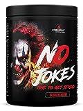 Peak International No Jokes Pre Workout Booster, 600 g Dose (Bloody Cherry)