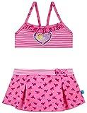 Schiesser Mädchen Prinzessin Lillifee Bustier-Bikini Badebekleidungsset, Rot (Rosé 506), 104