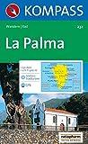 Kompass Karten, La Palma (CARTE DE RANDONNEE - 1/50.000, Band 232)