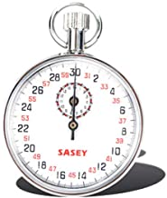 ساعة إيقاف ميكانيكية رياضية كرونوغراف تعمل بمؤقت إيقاف تشغيل يده
