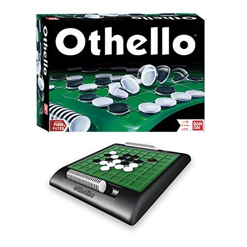 Bandai Othello société-Jeu de stratégie et de réflexion-2 joueurs-15/20min-dès 7 ans-MH80048, MH80048