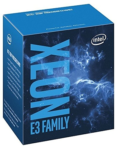 Intel Xeon Processor E3-1245 v5 (8M Cache, 3.50 GHz) 3.5GHz 8MB Smart Cache Caja - Procesador (3.50 GHz), Intel Xeon E3 v5, 3,5 GHz, LGA 1151 (Zócalo H4), Servidor/estación de trabajo, 14 nm, E3-1245V5)