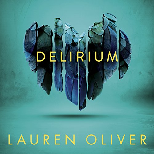 Delirium audiobook cover art