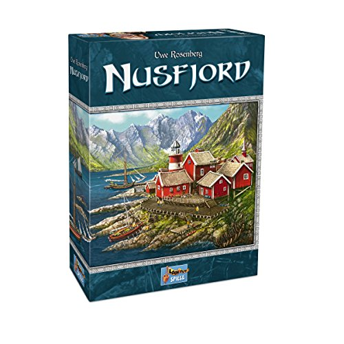 Lookout Games 22160095 - Nusfjord, Kennerspiel von Uwe Rosenberg