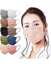 アイリスオーヤマ マスク 不織布 血色マスク カラーマスク ふつうサイズ 60枚入 APN-60LPB ピンクベージュ