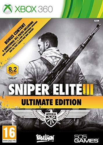 X360 Sniper Elite Iii Ultimate Edition & 9 DLC Packs (Eu)
