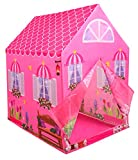 Kiddie Play Princess Playhouse Kids Play Tent for Boys & Girls Indoor Outdoor Toy
