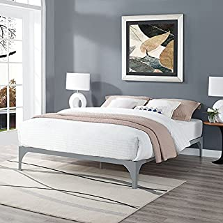 Modway Ollie King Bed Frame in Gray