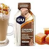 GU Energy Gel Energizante de Caramel Macchiato - Paquete de 24 x 32 gr - Total: 768 gr