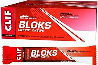 CLIF Shot Bloks Energy Chews Orange (25mg Caffeine) 18x60g