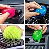 12 Packs Cleaning Gel Universal Dust Cleaner for Keyboard, Car, Remoter, Laptop, Air Conditioner,Dust Cleaner in Home and Office,600g in Total