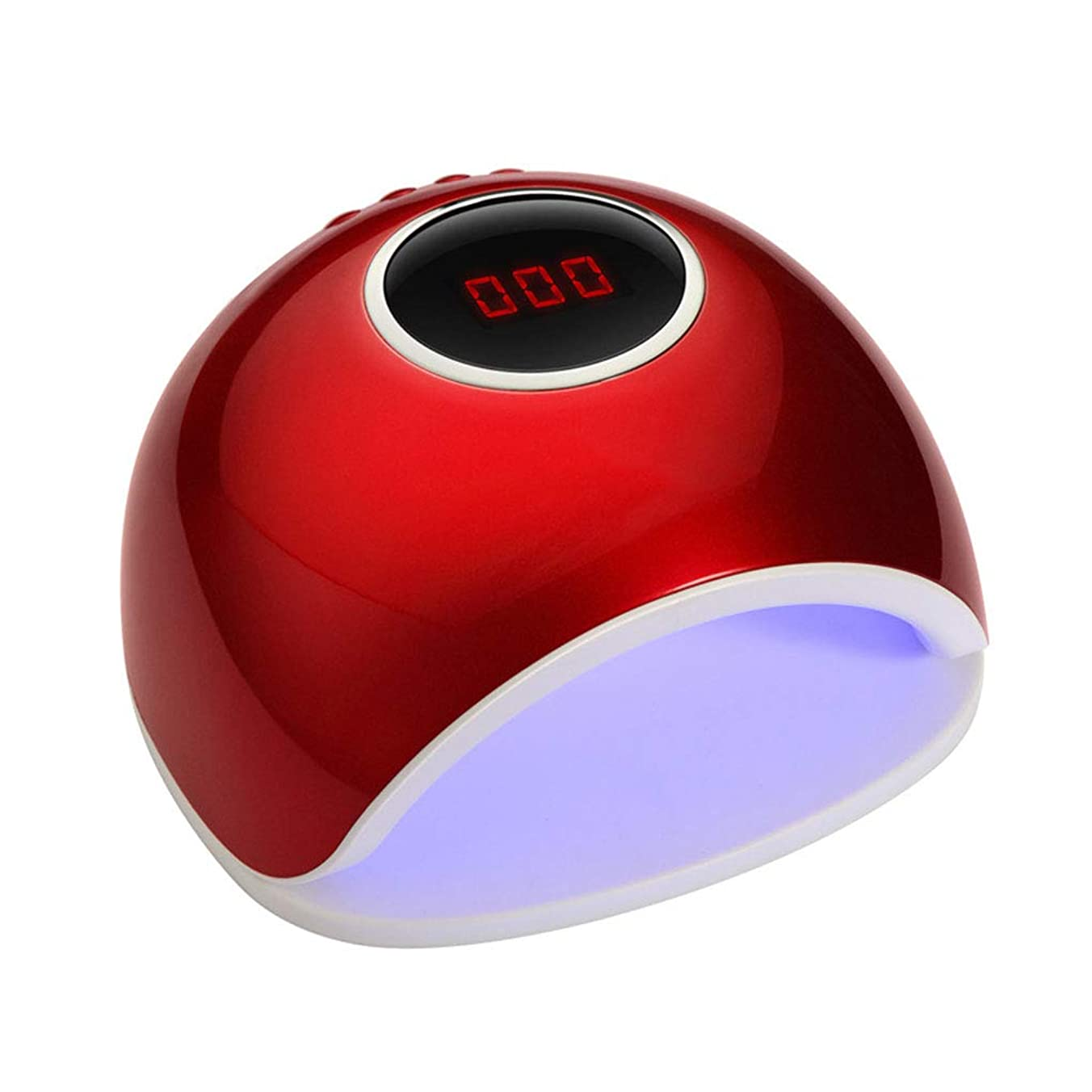 収益優遇置き場TopFires LEDネイルドライヤー 赤外線検知72W ハイパワー UV と LEDダブルライト ジェルネイル用 【全新品】