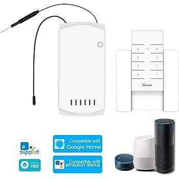 SONOFF iFAN03 RF Remote Controlled Interruttore Ventola RM433 a Distanza di velocit/à Regolabile Intelligente Fan WiFi Switches
