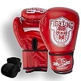 Senston Guantes de Boxeo Martial Adulto 10 OZ Guante de Entrenamiento para...